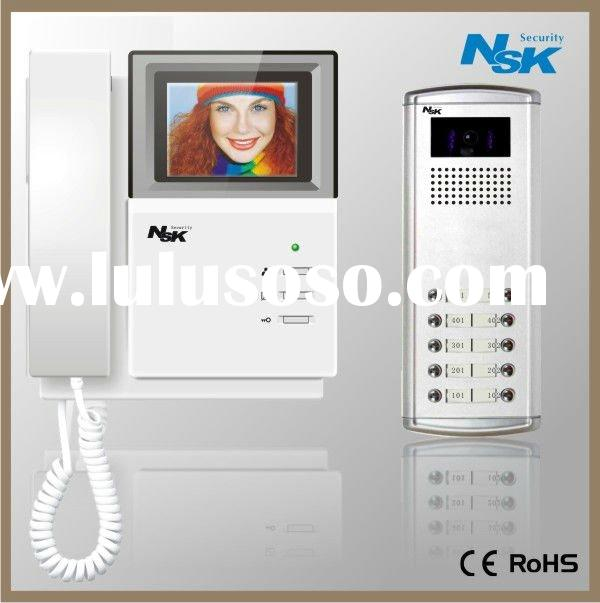 "3.5""/4.0"" color video door phone system"