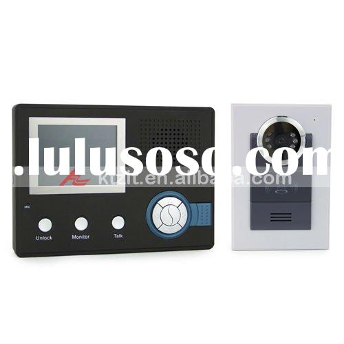 3.5'' Color LCD 2.4Ghz Wireless Waterproof Night Vision Video Intercom Doorbell/Door