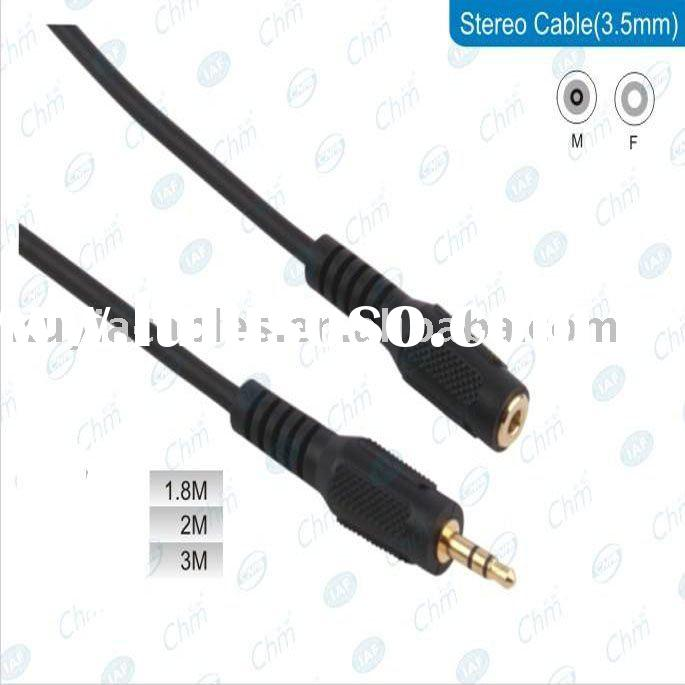 3.5 TO 3.5 MM MALE TO MALE STEREO CABLE FOR HEADPHONE PLUG