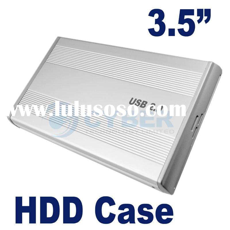 "3.5"" USB 2.0 External Hard Drive Enclosure"