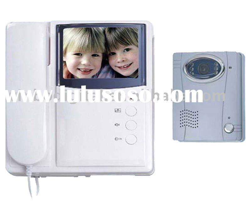 3.5 inch TFT screen villa color video door phone,intercom system SAVM2-C3