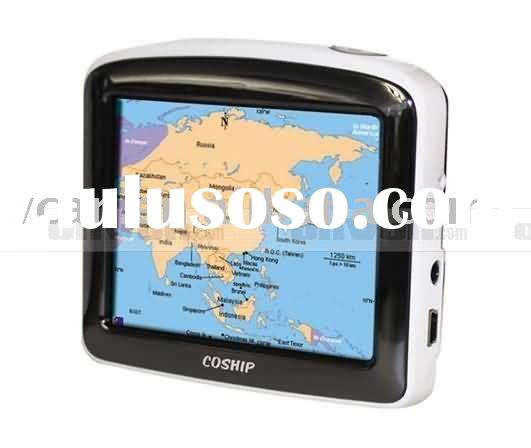 3.5 inches LCD touch screen Car-carried and Portable GPS Navigat