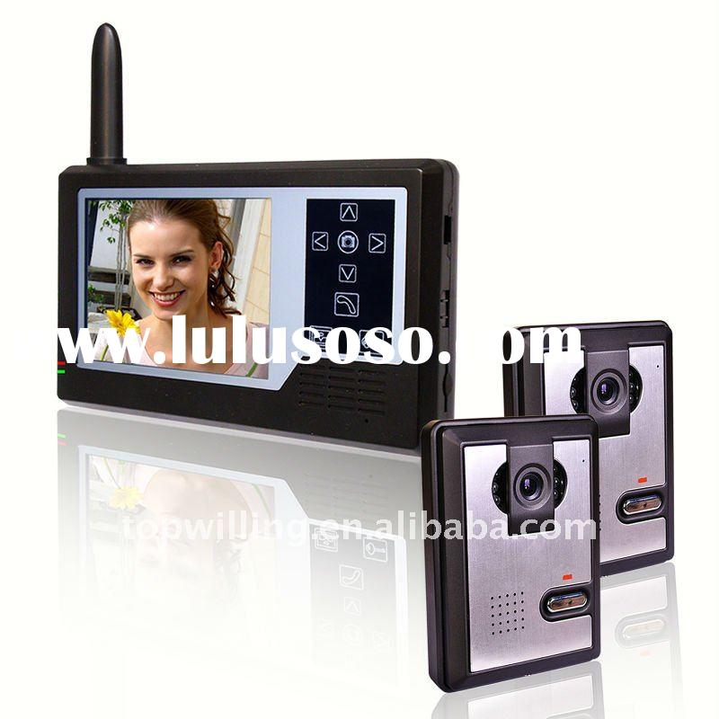3.5inch wireless video door phone, video doorbell, intercom