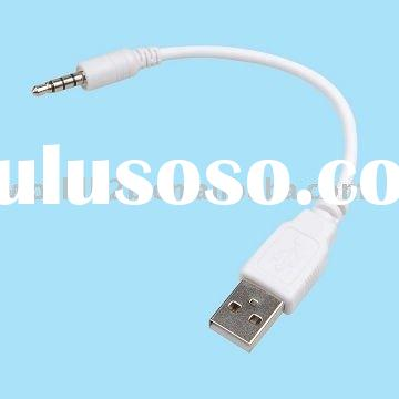 3.5mm Converter USB Charger Cable for ipod Shuffle 3rd