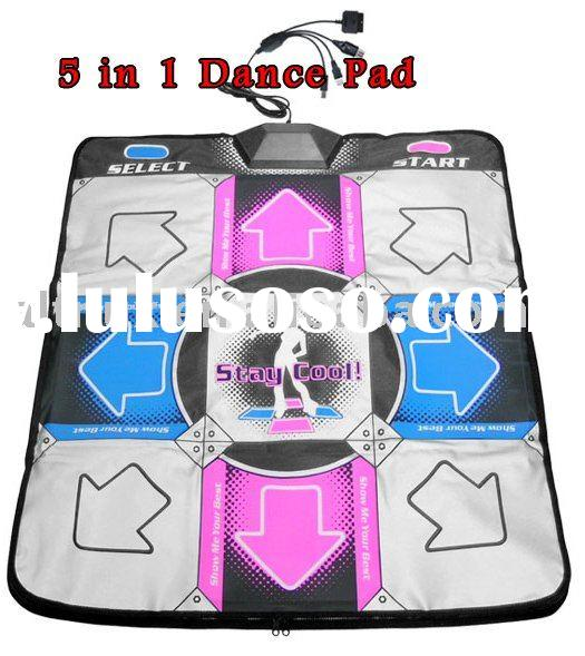 5 in1 USB Dance Mat for PS PS2 Xbox Wii SC58