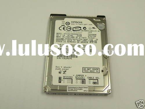 "60Gb IDE ATA Laptop Hard Drives 2.5"" 7200 RPM for Hitachi"
