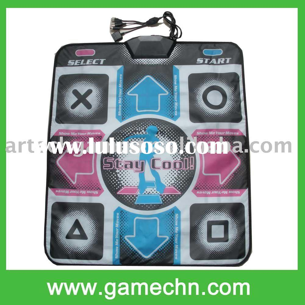 6IN1 DANCE MAT for Wii GC PS2 PSOne Xbox PC