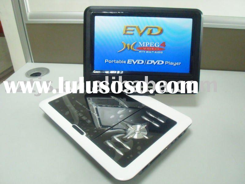 "7.5""-14.1""portable dvd player with USB/SD/Game/TV"