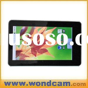 "7""Android 2.1 Touch pad+Notebook+Tablet PC+Google Android Netbook+touchpad+camera+wifi+support"