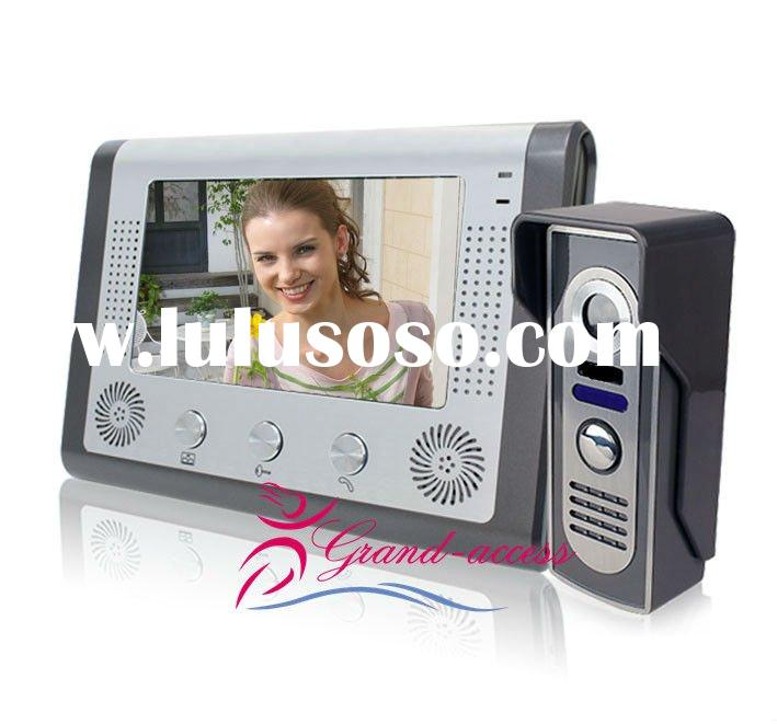 7 Inch Touch Screen Wireless Color Video Door Phone
