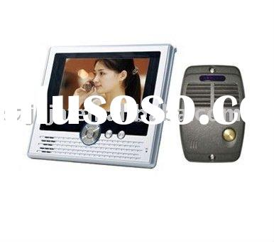 7''LCD Handfree Color Video door phone intercom system