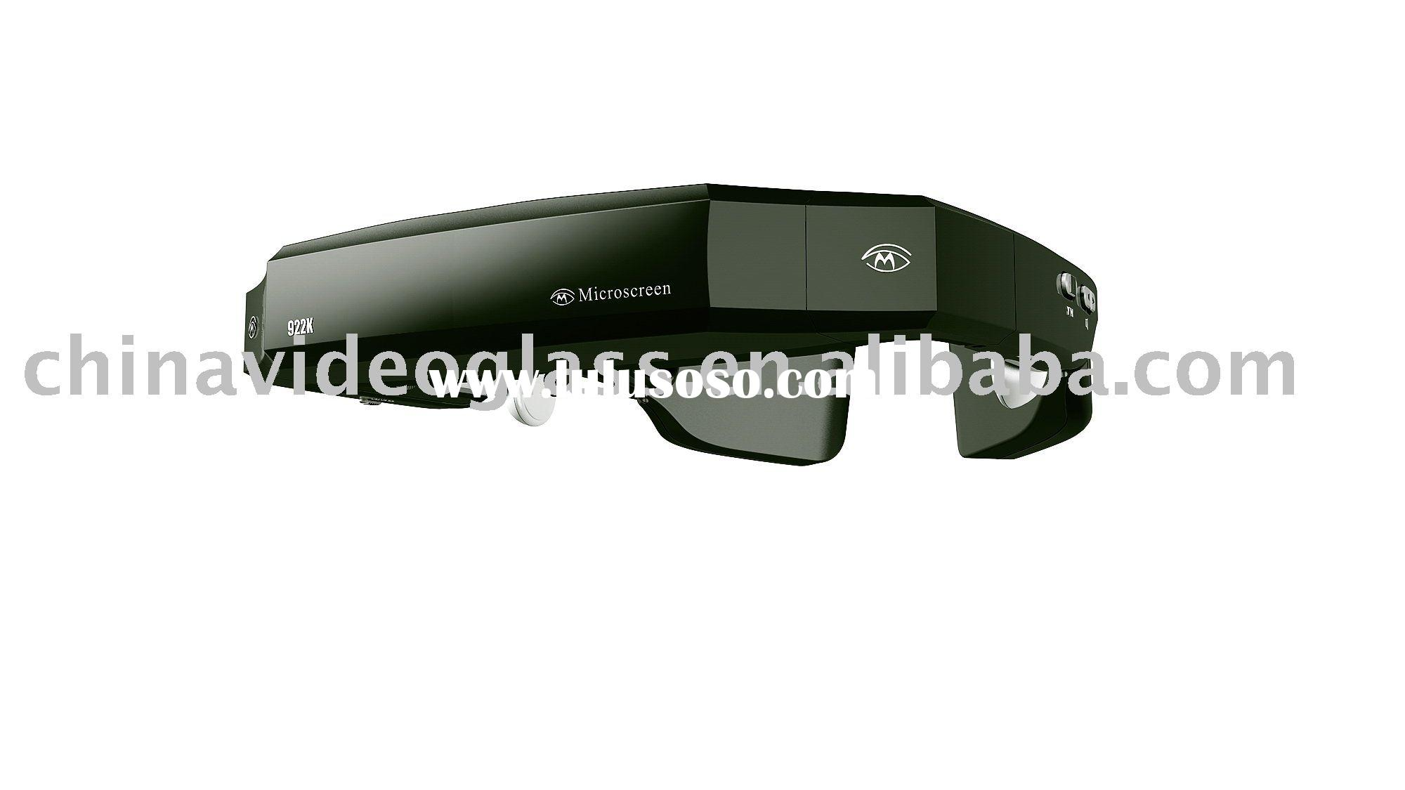 "80"" 3D wireless video glasses"