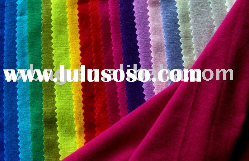 95% 5% COTTON KNITTED SPANDEX FABRIC