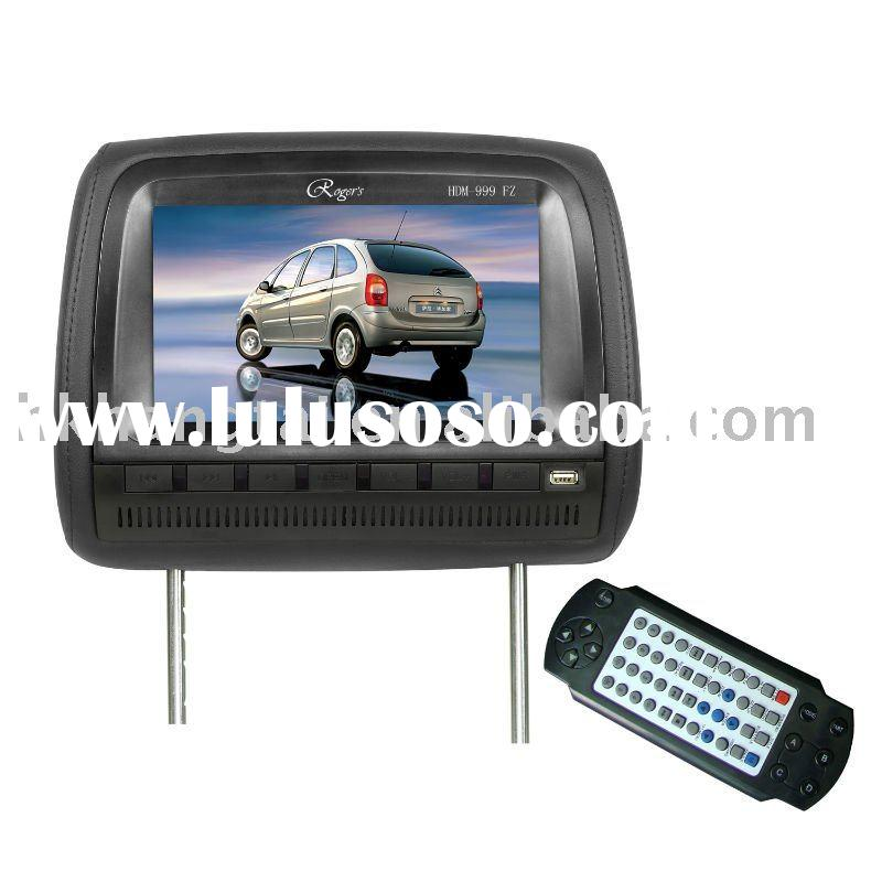 9 inch car headrest dvd player with Games,DVD Player,TV,AV-IN.FM