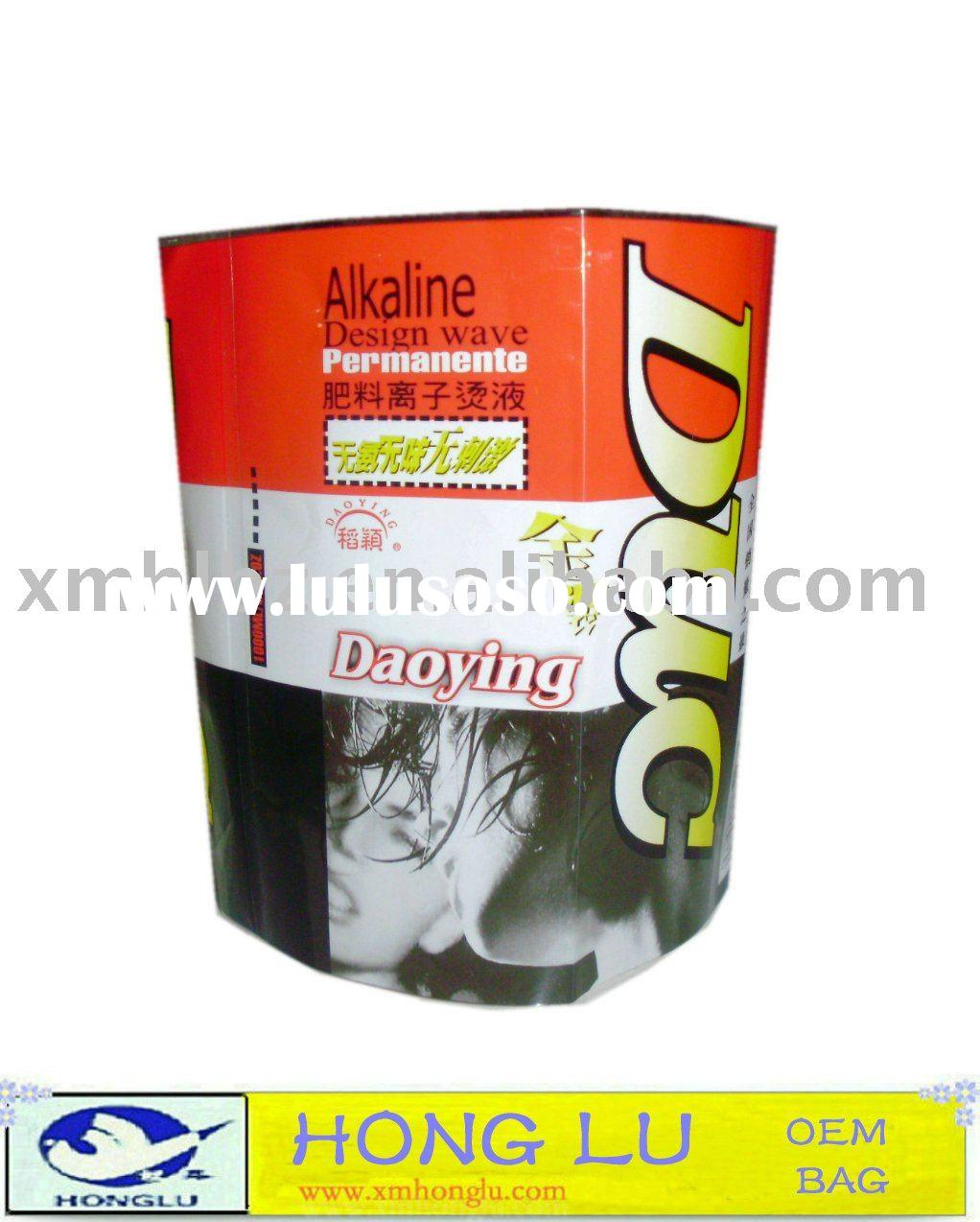 Adhesive Plastic Bottle label