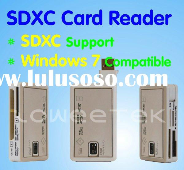 All In One SDXC Card Reader (Support Windows 7)