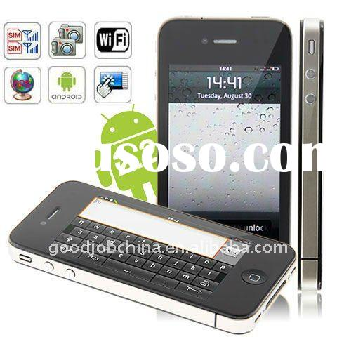 Android Phone 3.5 inch G4 Android 2.2 Phone Wifi GPS Java Dual Cards Capacitive Touch Screen Smart P