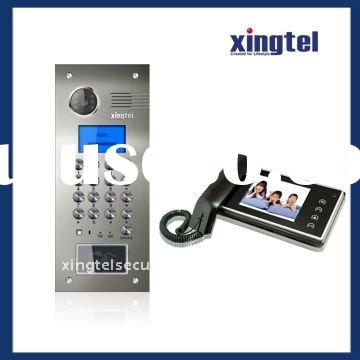 Apartment color video door phone 602 system