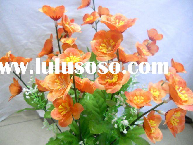 Artificial flower/artificial plant-- spring plum bloosm silk flower