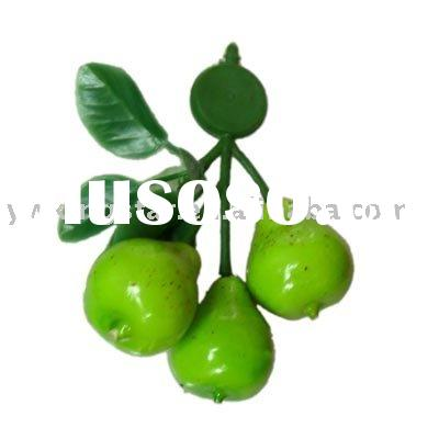 Artificial pears, home decoration artificial fruit, Fake fruit