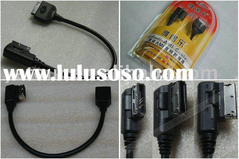 Audi AMI Cable for ipod,USB,Mini USB or AUX