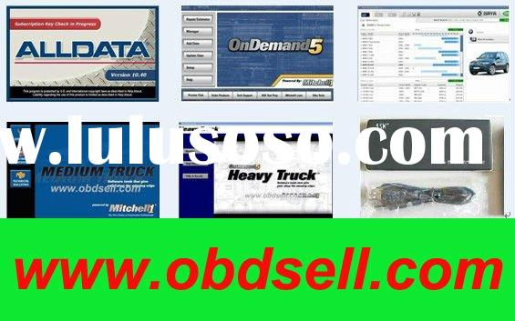 Auto repair software alldata v10.40 +mitchell on demand+vivid+ESI all them into500GB HDD