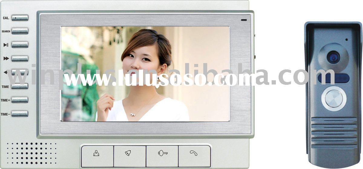 Automatic Recording Color Video Door Phone With Digital Lock Function