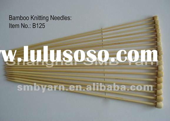 Bamboo Needles B125 for hand knitting at home