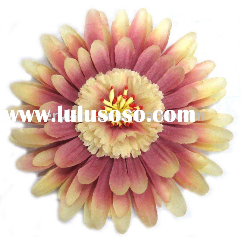 Big Baby Gerbera Daisy Flower Hair Accessory