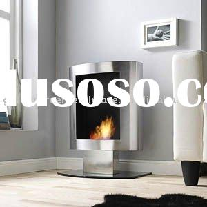 Bioethanol Fireplace, - Stand TV 1