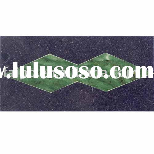 Blue Sand Stone,Green Aventurine tiles/Gemstone tiles/gemstone border tiles/architecture tiles
