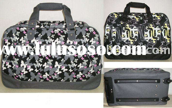 Butterfly trolley luggage bag
