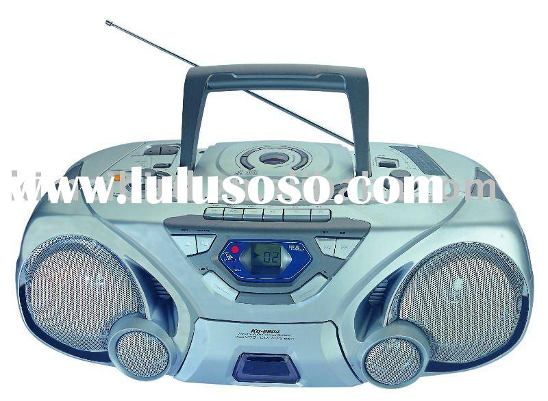 CD/VCD/DVD/MP3 Portable Player Boombox