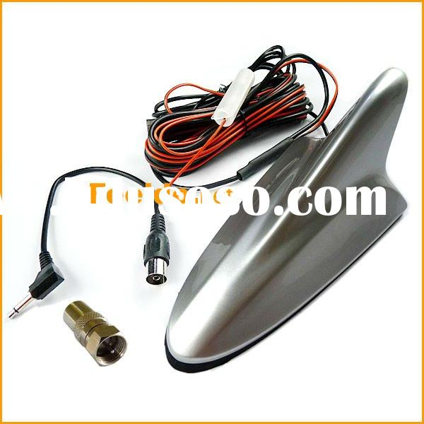 Car Shark decoration TV Antenna with Amplifier+Booster(DVB-T/ATSC)(FD-A005-S)