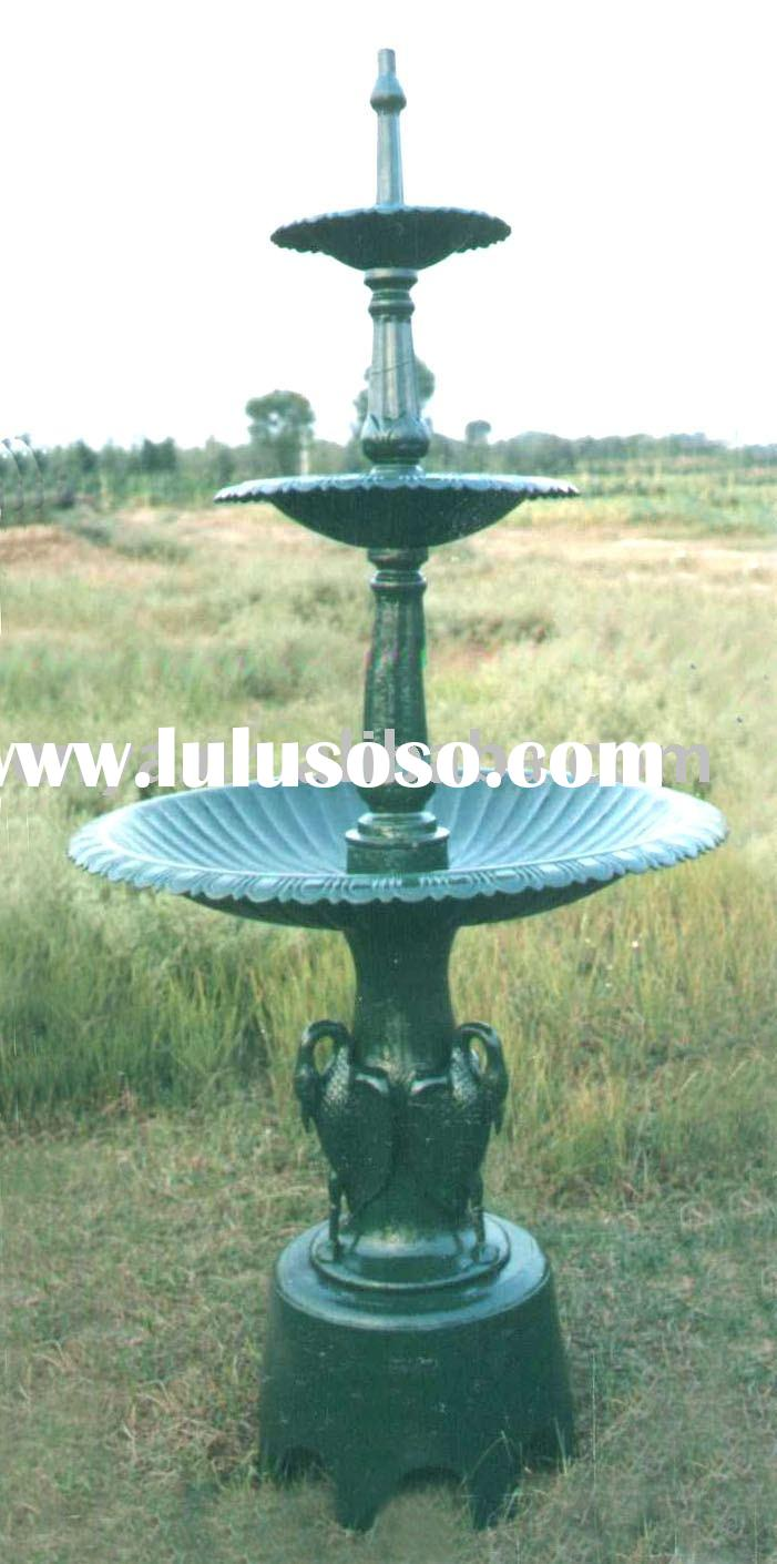Cast Iron Fountain, Outdoor Decoration, Garden Ornaments