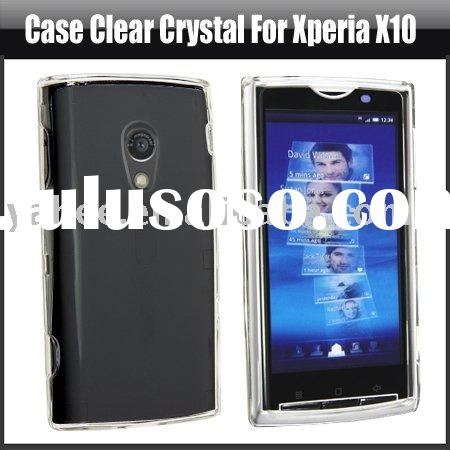 Clear Crystal Case for Sony Ericsson Xperia X10,YHA-MO042