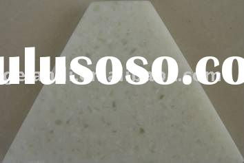 Clear Quartz artificial stone (slabs) for kitchen tops, a good comination of solid surface and quart