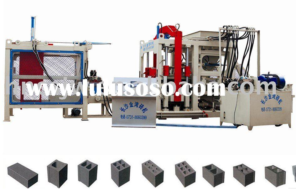 Concrete Block Machine With Fully Automatic Production Line