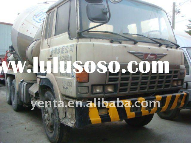 Concrete mixer truck - used mixer truck (SD-433) Y: 1990 - HINO truck