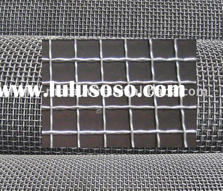Crimped Wire Mesh( carbon steel, stainless steel, Mn steel wire)