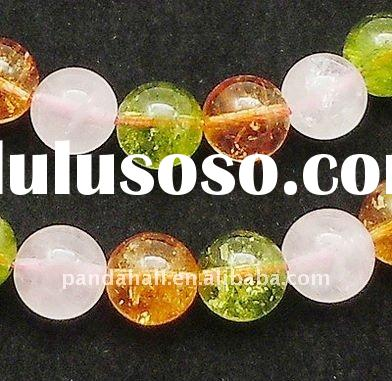 Crystal Loose Jewelry Bead Strands, Semi Precious Stone(G-Q166-1)