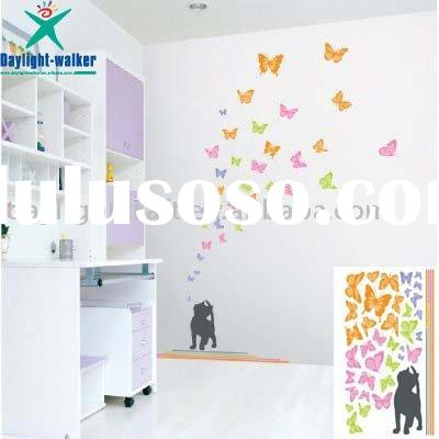 Custom butterfly vinyl room sticker wall decal