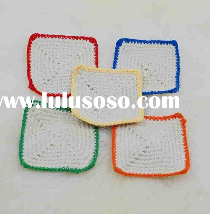 DD03018 Handmade Crochet Table Cup Coaster Mat