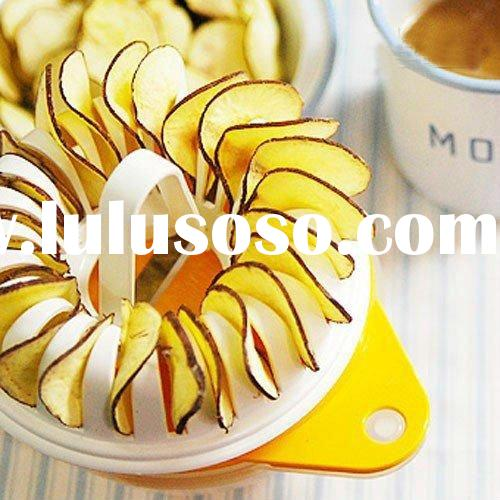 DIY Vegetable Slicer Microwave Healthy Chip Maker Potato Chip Cutter Dried Fruit Chip Maker