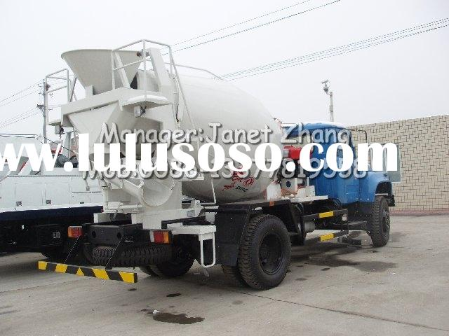 DONGFENG 3 CBM Concrete mixer truck for sale (cement mixer truck)