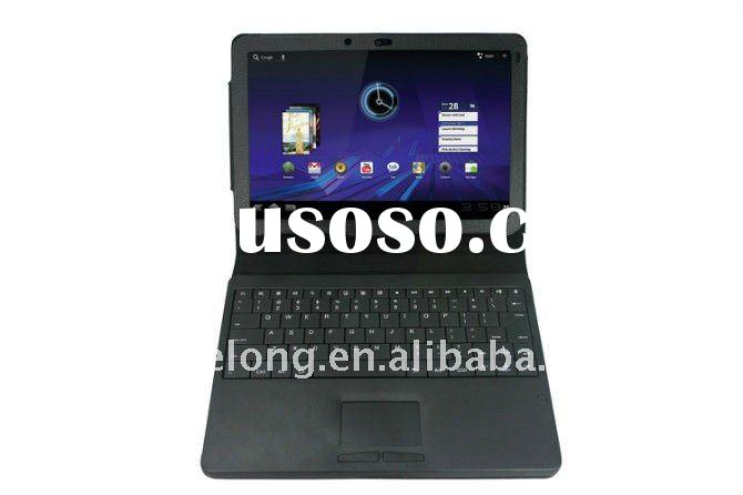 Detachable Wireless Bluetooth Keyboard Case Touchpad Mouse Combos For Motorola Xoom 10.1 Tab P7500 P