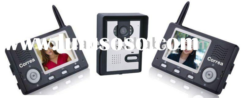 Digital Wireless Video Intercom Door Phone