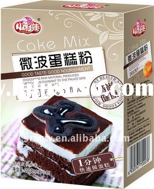 Do cake at home----new product Mircowave cake mix