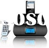 Docking Station for iPhone&iPod,multi-functional Mobile Phone Speaker