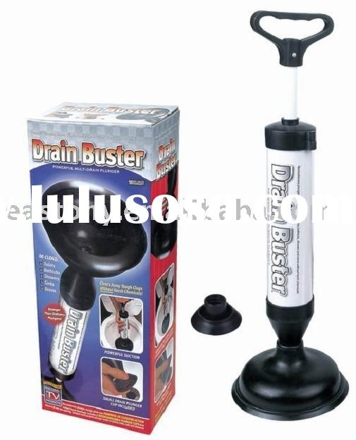 Drain Buster,Pipe Shooter,Drain Blaster,drain suction pump,power pump,drain plunger,drean cleaner, E